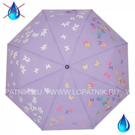 Купить Зонт автомат женский FLIORAJ 210714 FJ, Фиолетовый, Полиэстер (тканевый)