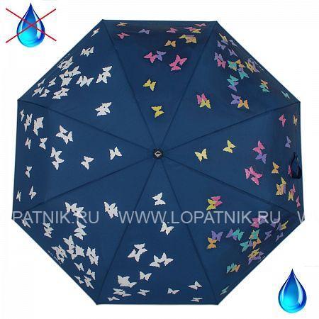 Купить Зонт автомат женский FLIORAJ 210715 FJ, Синий, Разноцветный, Полиэстер (тканевый)