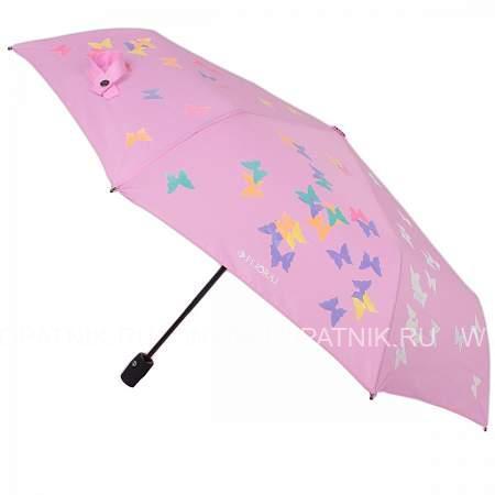 Купить Зонт автомат женский FLIORAJ 210716 FJ, Розовый, Полиэстер (тканевый)