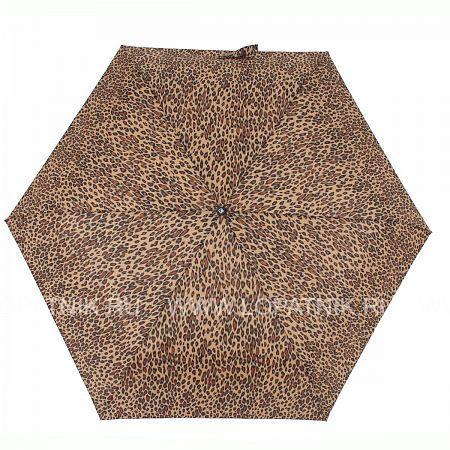 Купить Зонт автомат женский FLIORAJ 6087 FJ, Бежевый, Коричневый, Полиэстер (тканевый)
