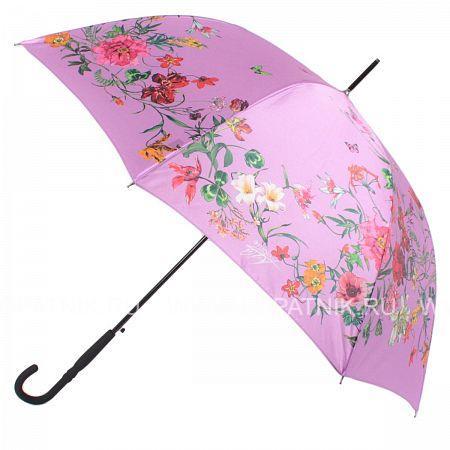 Купить Зонт трость женский FLIORAJ 050217 FJ, Розовый, Разноцветный, Полиэстер (тканевый)