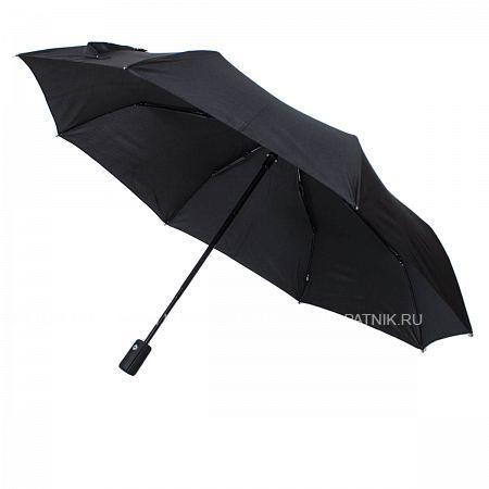 Купить Зонт автомат мужской FLIORAJ 009003 FJ, Черный, Полиэстер (тканевый)