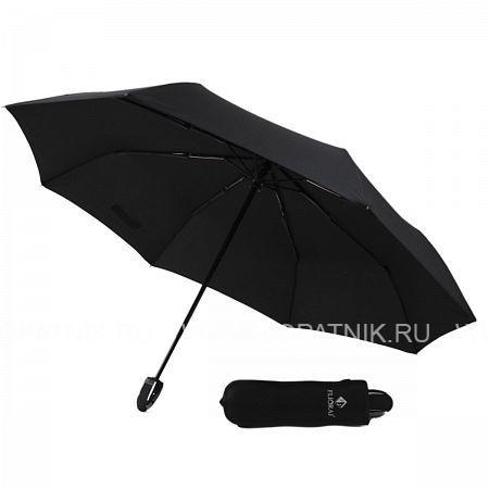 Купить Зонт автомат мужской FLIORAJ 010102 FJ, Черный, Полиэстер (тканевый)