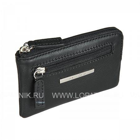 Купить Ключница кожаная женская GIANNI CONTI 9509073 BLACK, Черный, Натуральная кожа