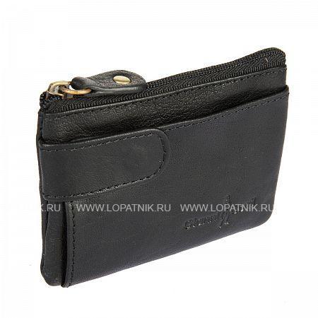 Купить Ключница кожаная мужская GIANNI CONTI 1079186 BLACK, Черный, Натуральная кожа