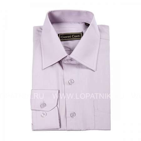 Купить Сорочка мужская GIANNI CONTI DF260-D06, Фиолетовый, Натуральная кожа