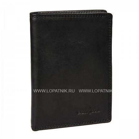 Купить Портмоне кожаное мужское GIANNI CONTI 917349 BLACK, Черный, Натуральная кожа