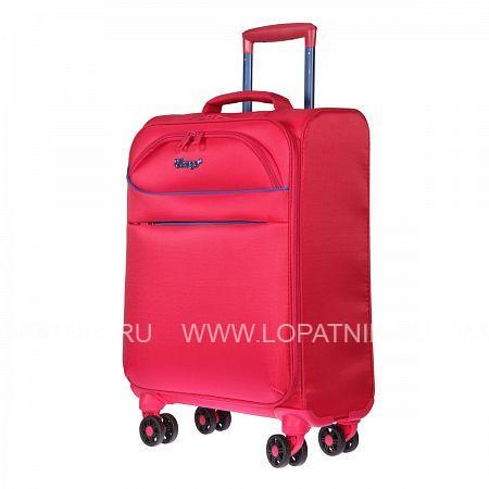 Купить Чемодан на колесах тканевый VERAGE GM17019W18.5 ROSE RED, Красный, Полиэстер (тканевый)