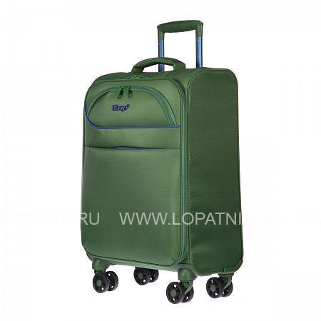 Купить Чемодан на колесах тканевый VERAGE GM17019W18.5 IVY GREEN, Зеленый, Полиэстер (тканевый)