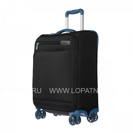 Купить Чемодан на колесах тканевый VERAGE GM17016W20 BLACK, Черный, Полиэстер (тканевый)