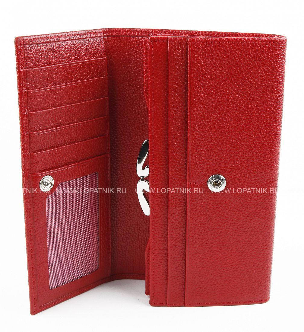 674bbd70f90d Женский кошелек из натуральной кожи Petek 400.046.110, Красный цена ...