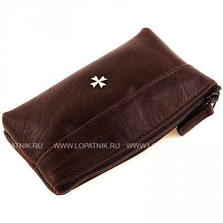 Купить Ключница женская кожаная VASHERON 9271-N.VEGETTA BROWN, Коричневый, Натуральная кожа