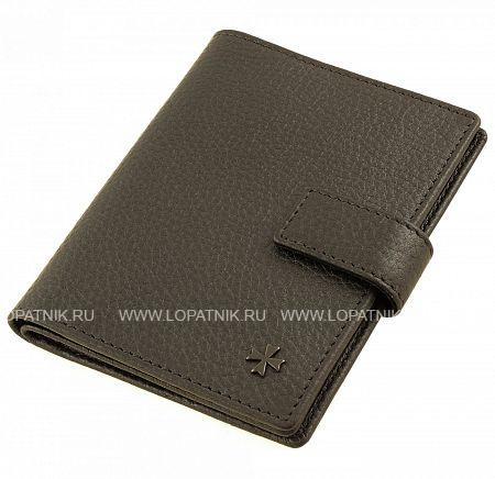 Купить Обложка для автодокументов и паспорта кожаная VASHERON 9173-N.GUNMETAL, Черный, Серый, Натуральная кожа