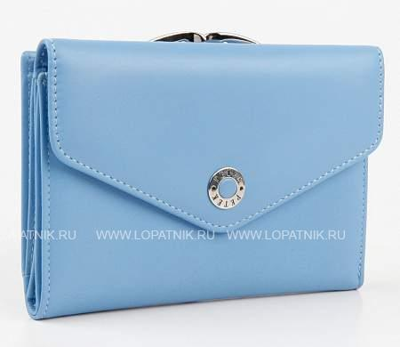 Купить Кошелек женский кожаный PETEK 308.167.74, Голубой, Натуральная кожа