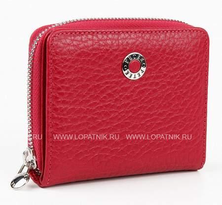 Купить Женский кошелек из натуралшьной кожи PETEK 380.46B.44, Красный, Натуральная кожа