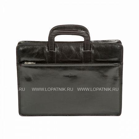 Купить Портфель-папка GIANNI CONTI 901034 BLACK, Черный, Натуральная кожа