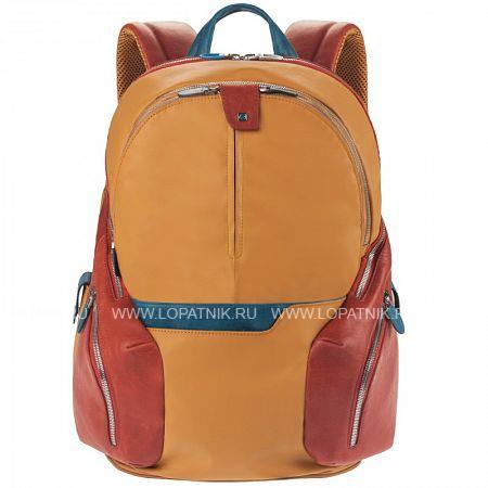 Купить Рюкзак с отделением для ноутбука PIQUADRO CA2943OS/G, Натуральная кожа