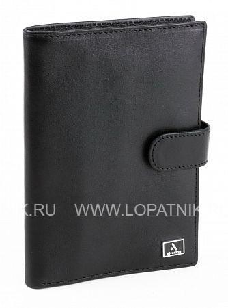 Купить Обложка для автодокументов ALVORADA 2003 BLACK, Черный, Натуральная кожа