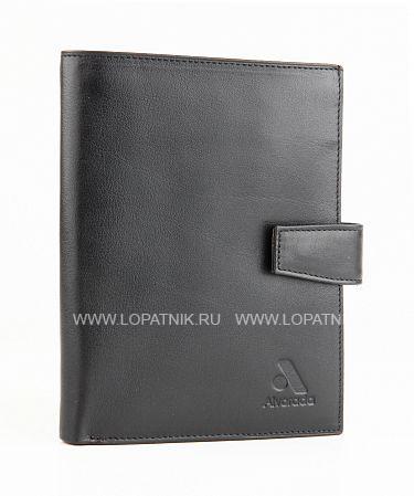Купить Обложка для автодокументов ALVORADA 2008 BLACK, Черный, Натуральная кожа