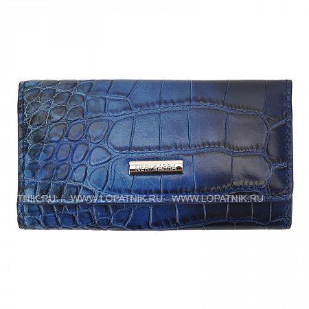 Купить Ключница NERI KARRA 0230-1.2-77.46, Синий, Черный, Натуральная кожа