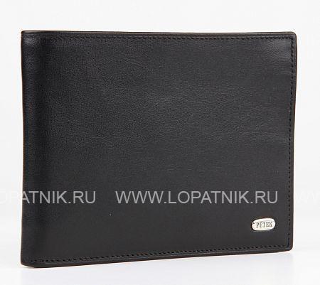 Купить Портмоне PETEK 101.000.01, Черный, Натуральная кожа