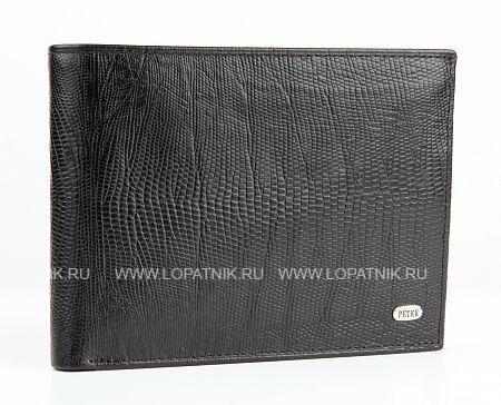 Купить Портмоне PETEK 131.041.01, Черный, Натуральная кожа