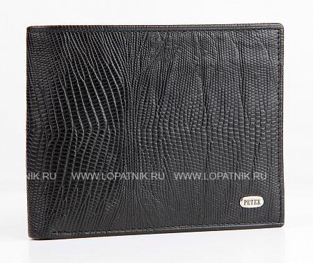 Купить Портмоне PETEK 182.041.01, Черный, Натуральная кожа