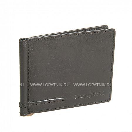 Купить Зажим для денег GIANNI CONTI 707466 BLACK, Черный, Натуральная кожа