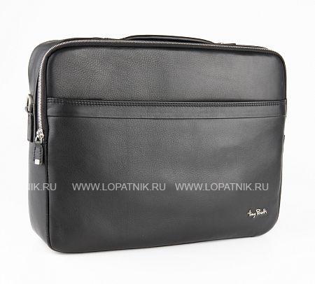 Купить Портфель с съемным плечевым ремнем TONY PEROTTI 563352/1, Черный, Натуральная кожа
