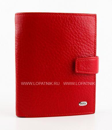 Купить Портмоне PETEK 433.46B.10, Бордовый, Натуральная кожа