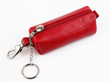 Купить Ключница PETEK 2542.041.10, Красный, Натуральная кожа