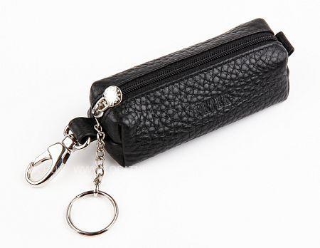 Купить Ключница PETEK 2542.46B.01, Черный, Натуральная кожа