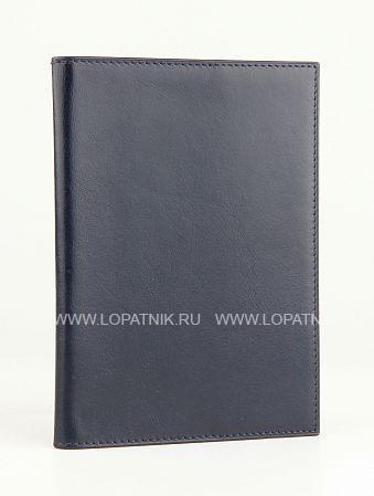 Купить Обложка для паспорта ALVORADA 2005N BLUE DARK, Синий, Натуральная кожа