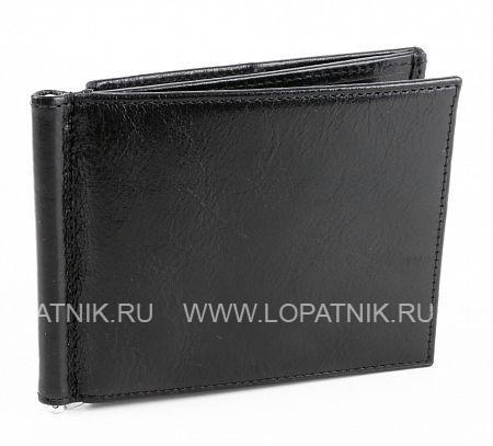Купить Зажим для денег ALVORADA 1017 BLACK, Черный, Натуральная кожа