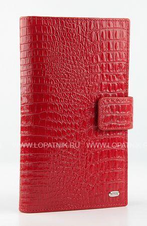 Купить Портмоне PETEK 2394.067.10, Красный, Натуральная кожа