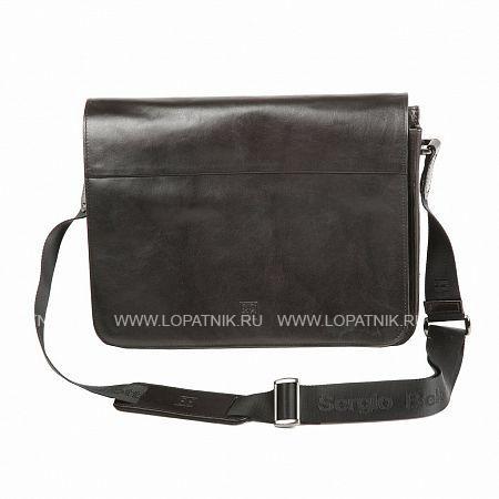 Купить Сумка-планшет SERGIO BELOTTI 8919-34 MILANO BLACK, Черный, Натуральная кожа