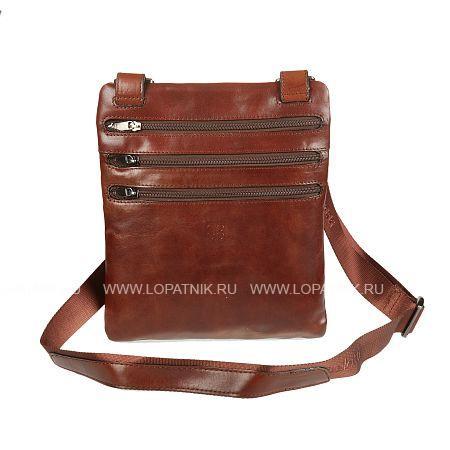 Купить Сумка-планшет SERGIO BELOTTI 9327 MILANO BROWN, Коричневый, Натуральная кожа