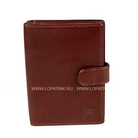 Купить Обложка для паспорта и автодокументов SERGIO BELOTTI 2706 MILANO BROWN, Коричневый, Натуральная кожа