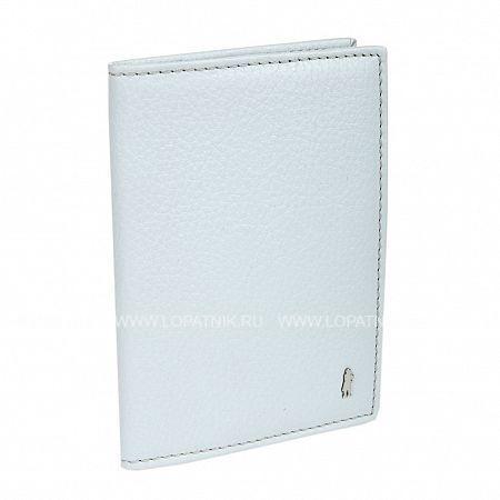 Купить Обложка для паспорта GIANNI CONTI 1817455 ICE, Голубой, Натуральная кожа