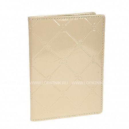Купить Обложка для паспорта GIANNI CONTI 3777493 BEIGE, Бежевый, Натуральная кожа