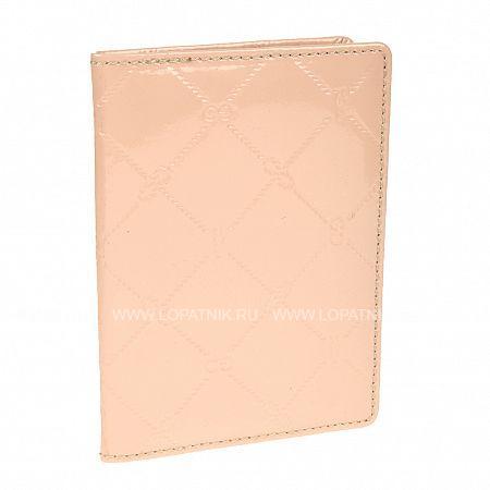 Купить Обложка для паспорта GIANNI CONTI 3777493 POWDER, Розовый, Натуральная кожа
