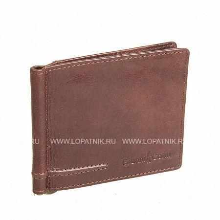 Купить Портмоне мужское GIANNI CONTI 707466 BR, Коричневый, Натуральная кожа