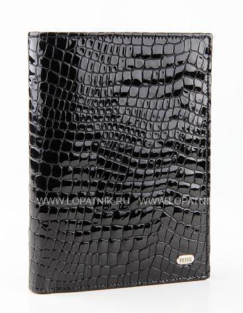 Купить Портмоне мужское PETEK 597.091.01, Черный, Натуральная кожа