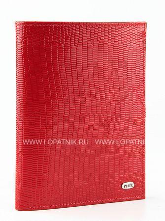 Купить Портмоне женское PETEK 597.173.10, Красный, Натуральная кожа