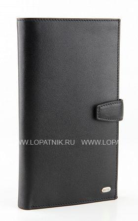 Купить Портмоне мужское PETEK 558.000.01, Черный, Натуральная кожа