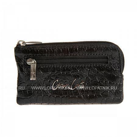 Купить Ключница GIANNI CONTI 1389073 BLACK, Черный, Натуральная кожа