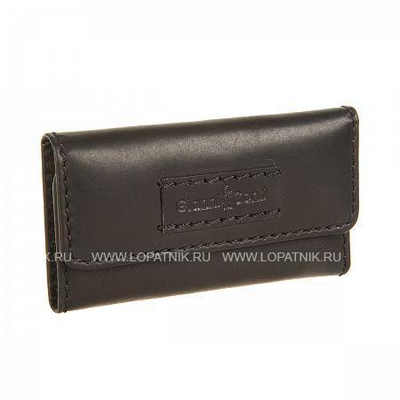 Купить Ключница GIANNI CONTI 1229069 BLACK, Черный, Натуральная кожа