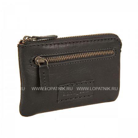 Купить Ключница GIANNI CONTI 1229073 BLACK, Черный, Натуральная кожа