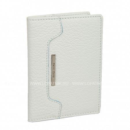 Купить Обложка для паспорта GIANNI CONTI 1717455 WHITE, Белый, Натуральная кожа