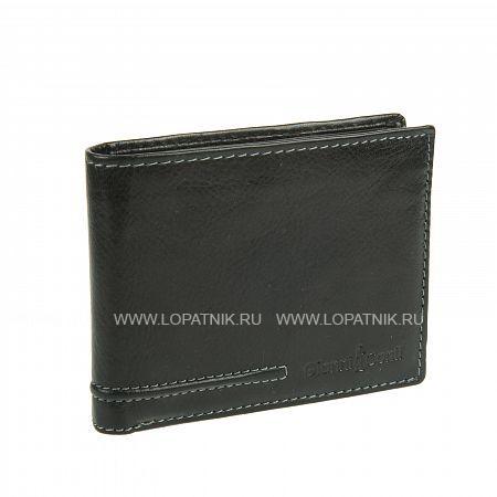 Купить Портмоне мужское GIANNI CONTI 707410 BLACK, Черный, Натуральная кожа